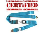 safeTboy KLT685727 2pt Electric Blue Seat Belt for 1976 Bentley T1 Seriess modern new certified