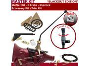 700R4 Shifter Kit 16 E Brake Cable Trim Kit Dipstick For E72A5 chevrolet roadmaster c series 3/4 ton corvette firebird fleetwood bravada k series blazers brough