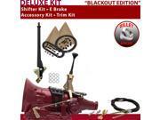 C4 Shifter Kit 6 E Brake Cable Trim Kit For DF82A cougar cortina ranchero ltd montego thunderbird granada capri falcon lincolns f-series mustang fairmont maveri