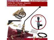700R4 Shifter Kit 16 E Brake Cable Clamp Trim Kit Dipstick For CF8CF brougham roadmaster chevy pickups sonoma surburban bravada blazers fleetwood g series vans
