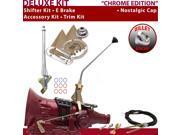 C4 Shifter Kit 12 E Brake Cable Trim Kit For E4894 f-series ford ltd bronco fairmont maverick lincolns monarch capri ranchero montego mustang falcon cortina thu
