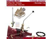 700R4 Shifter Kit 12 E Brake Cable Clevis Trim Kit For D99E7 chevy blazers impala k series pickups brougham roadmaster c series cadillac sonoma caprice astro va