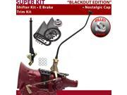 700R4 Shifter Kit 23 Swan E Brake Trim Kit For F64D5 chevrolet cadillac k series impala pontiac surburban blazers 3/4 ton brougham astro van c series chevy corv
