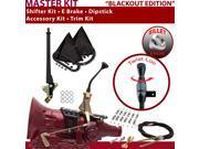 700R4 Shifter Kit 8 E Brake Cable Clamp Trim Kit Dipstick For E216F k series camaro cadillac sonoma caprice firebird brougham surburban pontiac buick blazers g
