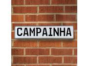 Vintage parts USA VPAY129CC Campainha White Stamped Aluminum Street Sign Mancave Wall Art