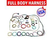 USA Auto Harness SM234856 1946 - 1954 Willys Wire Harness Upgrade Kit fits painless circuit compact update