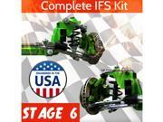 Helix Suspension Brakes and Steering TMN463952 Stage 6 * 67-79 Ford Truck Mustang II IFS Kit Pro-Touring Super Deluxe Hot Rods
