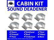 Zirgo ZIR764C4 Car Audio Sound Deadener & Heat Barrier for 95-99 Neon  In Cabin Kit