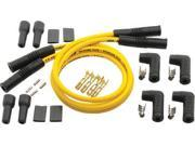 Accel 4 Plug Wire Set Yellow 8.8Mm 170082