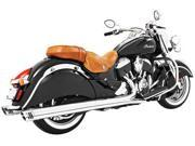 Freedom Racing 4 Slip-On Exhaust Chrome W/Chrome End Caps In00025