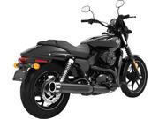 Freedom Eagle Slip-On Exhaust 4 Black W/Black Tip Hd00468
