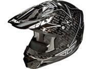 Fly Racing Aurora Helmet Black Xs 73-4911Xs