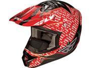 Fly Racing Aurora Helmet Red Xs 73-4912Xs