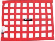 Allstar Performance Window Net 1 In Webbing 18 x 24 in Rectangle Red P N 10287