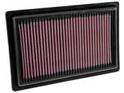 K&N Filters 33-3034 Air Filter Fits 15-18 C300 E300 GLC300 SLC300 SLK300 9SIV04Z5641699