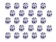 Allstar Performance 3 AN Dust Cap Aluminum 20 pc P/N ALL50821