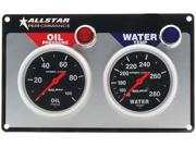 Allstar Performance Black Face Gauge Panel Assembly P/N 80110