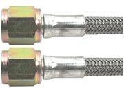 ALLSTAR PERFORMANCE 9 in 4 AN Braided Brake Hose 5 pc P/N 46400-9-5