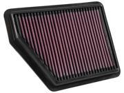 K&N Filters 33-5045 Air Filter Fits 16-17 Civic 9SIV04Z4XR4849