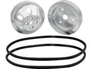 Allstar Performance SBC V-Belt 1 to 1 Pulley Kit P/N 31083