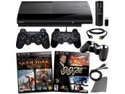 Playstation 3 500GB Console with 2 Games & 6 in 1 Kit