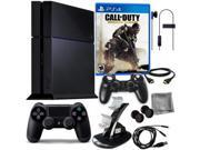 PS4 500GB with COD Advanced Warfare & 8 in 1 Kit