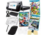 Wii U Super Mario 3D World Deluxe Set with Nintendo Land, Mario Kart 7 & Accessories