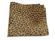 Cheetah Print Cotton 9 x 9 Pocket Square