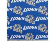 NFL Detroit Lions Cotton Fabric 9SIA7JB2R75508