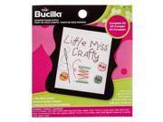 Little Miss Crafty Mini Counted Cross Stitch Kit 9SIA7JB2R96384