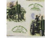 CCT4 20 John Deere Vintage Scenic Fabric