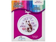 Where the Cat is Mini Counted Cross Stitch Kit 9SIA7JB3ME1854