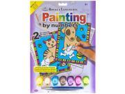 Kitten & Puppy Paint by Number Kit 9SIA7JB3ME3237