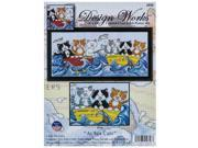 At Sea Cats Counted Cross Stitch Kit 9SIA7JB3MD9936