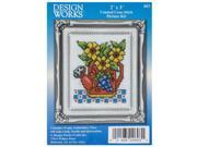Watering Can Mini Counted Cross Stitch Kit 9SIA7JB3ME0059
