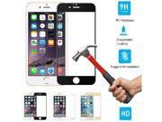 [3D Curved 9H Full Cover ] Tempered Glass Screen Protector for iPhone 6 / 6S, Black 9SIA7JK6P25307