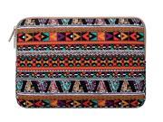Mosiso Laptop Sleeve Bohemian Style Canvas Fabric Case Bag Cover for Acer Chromebook 11 HP Stream 11 Samsung Chromebook 2 Notebook Computer MacBook Air