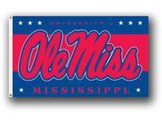 University of Mississippi - 3' x 5' Polyester Flag 9SIA7KF2NT3915