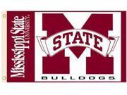 Mississippi State - 3' x 5' Polyester Flag 9SIA7KF2NT6139
