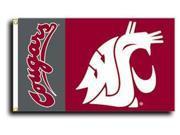 Washington State - 3' x 5' NCAA Polyester Flag 9SIA7KF2NT0694