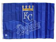 Kansas City Royals - 3' x 5' MLB Polyester Flag 9SIA7KF2NT1273
