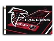 Atlanta Falcons - 3' x 5' NFL Flag (Field Design) 9SIA7KF2NT2087