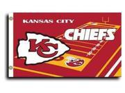 Kansas City Chiefs - 3' x 5' NFL Flag (Field Design) 9SIA7KF2NT2166