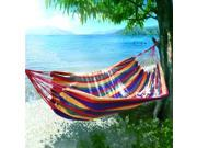 Outdoor Nation Comfortable Hanging Cotton Nylon Mesh Rope Hammock Deals