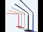 Skyfire Foldable 24 LED Office Lamp Eye Protection Desk Lamp USB/AC 110V 220V Power - Red
