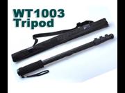 "WT-1003 monopod portable professional camera monopod For Canon Eos Nikon DSLR Lightweight Monopod Max 67"""