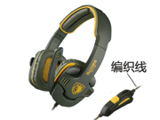 Brand Sades SA708 Gaming Stereo Headphone Headband Headset With Microphone For Computer PC Game Bass Noise Cancelling Headphones