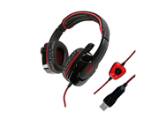 SADES SA-901 7.1 Surround Sound USB Gaming Game Headphone Headset Mic Remote for PC Laptop