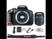 Canon EOS Rebel T5i DSLR Camera (Body Only) (International Model) with 18-55mm STM Lens Kit