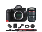 Canon EOS 5DS R DSLR Camera Body Only International Model with 24 105mm f 4 II Lens Kit